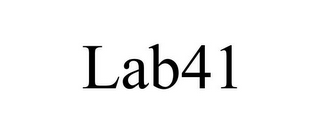 mark for LAB41, trademark #85632965