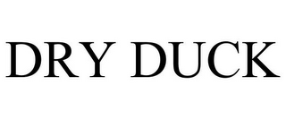 mark for DRY DUCK, trademark #85633169