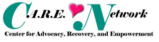 mark for C.A.R.E. NETWORK, CENTER FOR ADVOCACY, RECOVERY, AND EMPOWERMENT, trademark #85633232