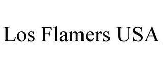 mark for LOS FLAMERS USA, trademark #85633542