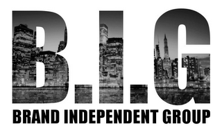 mark for B.I.G BRAND INDEPENDENT GROUP, trademark #85633543