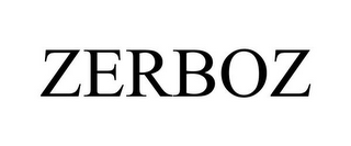 mark for ZERBOZ, trademark #85633621