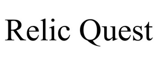 mark for RELIC QUEST, trademark #85633718