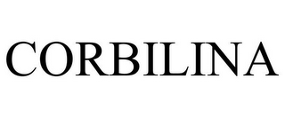 mark for CORBILINA, trademark #85633801