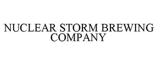 mark for NUCLEAR STORM BREWING COMPANY, trademark #85633839