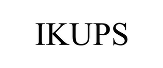 mark for IKUPS, trademark #85633988