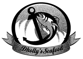 mark for D DHOLLY'S SEAFOOD, trademark #85634099