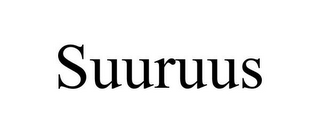 mark for SUURUUS, trademark #85634161