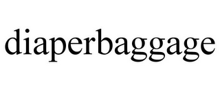 mark for DIAPERBAGGAGE, trademark #85634179