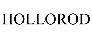 mark for HOLLOROD, trademark #85634249