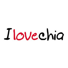 mark for I LOVE CHIA, trademark #85634314