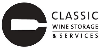 mark for CLASSIC WINE STORAGE & S E R V I C E S, trademark #85634768
