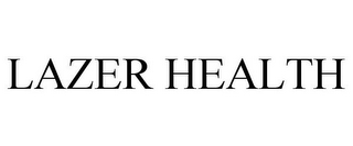 mark for LAZER HEALTH, trademark #85634789