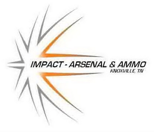 mark for IMPACT-ARSENAL & AMMO KNOXVILLE, TN, trademark #85634859