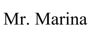mark for MR. MARINA, trademark #85634958