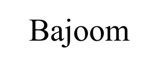 mark for BAJOOM, trademark #85635057