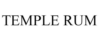 mark for TEMPLE RUM, trademark #85635229