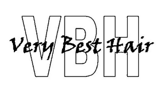 mark for VERY BEST HAIR VBH, trademark #85635262
