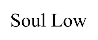 mark for SOUL LOW, trademark #85635352