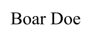 mark for BOAR DOE, trademark #85635448