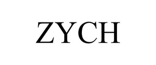mark for ZYCH, trademark #85635555