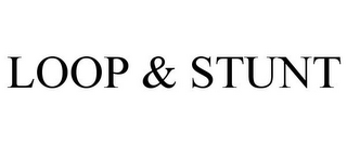 mark for LOOP & STUNT, trademark #85635575