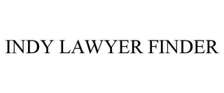 mark for INDY LAWYER FINDER, trademark #85635626