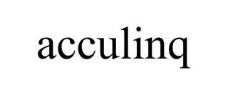mark for ACCULINQ, trademark #85635707