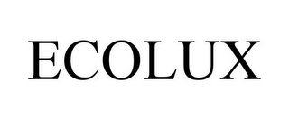 mark for ECOLUX, trademark #85635813