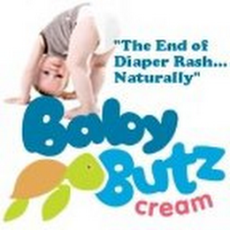 "mark for ""BABY BUTZ CREAM, THE END OF DIAPER RASH...NATURALLY"", trademark #85635939"