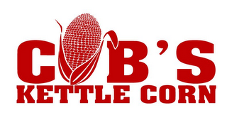 mark for COB'S KETTLE CORN, trademark #85636103