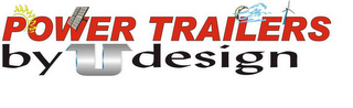 mark for POWER TRAILERS BY U DESIGN, trademark #85636117
