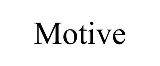 mark for MOTIVE, trademark #85636733