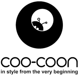 mark for COO-COON IN STYLE FROM THE VERY BEGINNING, trademark #85636881