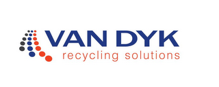 mark for VAN DYK RECYCLING SOLUTIONS, trademark #85637037