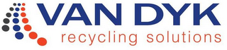 mark for VAN DYK RECYCLING SOLUTIONS, trademark #85637084