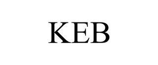 mark for KEB, trademark #85637154