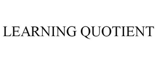 mark for LEARNING QUOTIENT, trademark #85637325