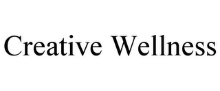 mark for CREATIVE WELLNESS, trademark #85637364
