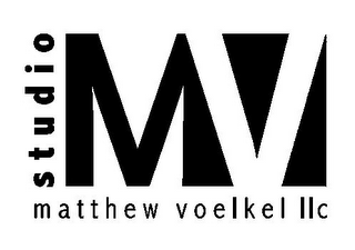 mark for STUDIO MV MATTHEW VOELKEL LLC, trademark #85637377