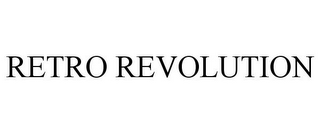 mark for RETRO REVOLUTION, trademark #85637521