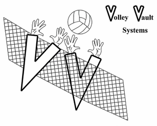 mark for VOLLEY VAULT SYSTEMS VV, trademark #85637817