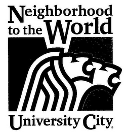 mark for NEIGHBORHOOD TO THE WORLD UNIVERSITY CITY, trademark #85637833