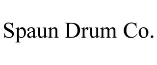 mark for SPAUN DRUM CO., trademark #85638208