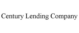 mark for CENTURY LENDING COMPANY, trademark #85638431