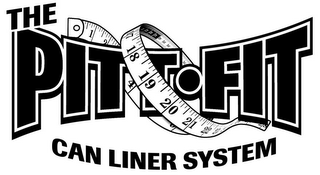 mark for THE PITT FIT CAN LINER SYSTEM, trademark #85638681