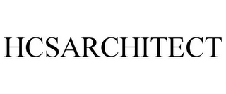 mark for HCSARCHITECT, trademark #85638718