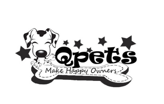 mark for QPETS MAKE HAPPY OWNERS, trademark #85639009