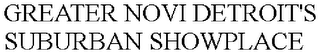 mark for GREATER NOVI DETROIT'S SUBURBAN SHOWPLACE, trademark #85639160