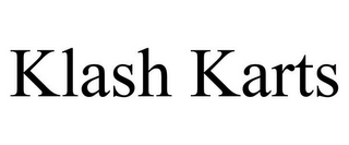 mark for KLASH KARTS, trademark #85639219